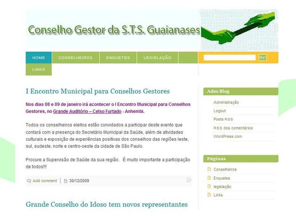 Encontro Municipal de Conselhos Jan/201025