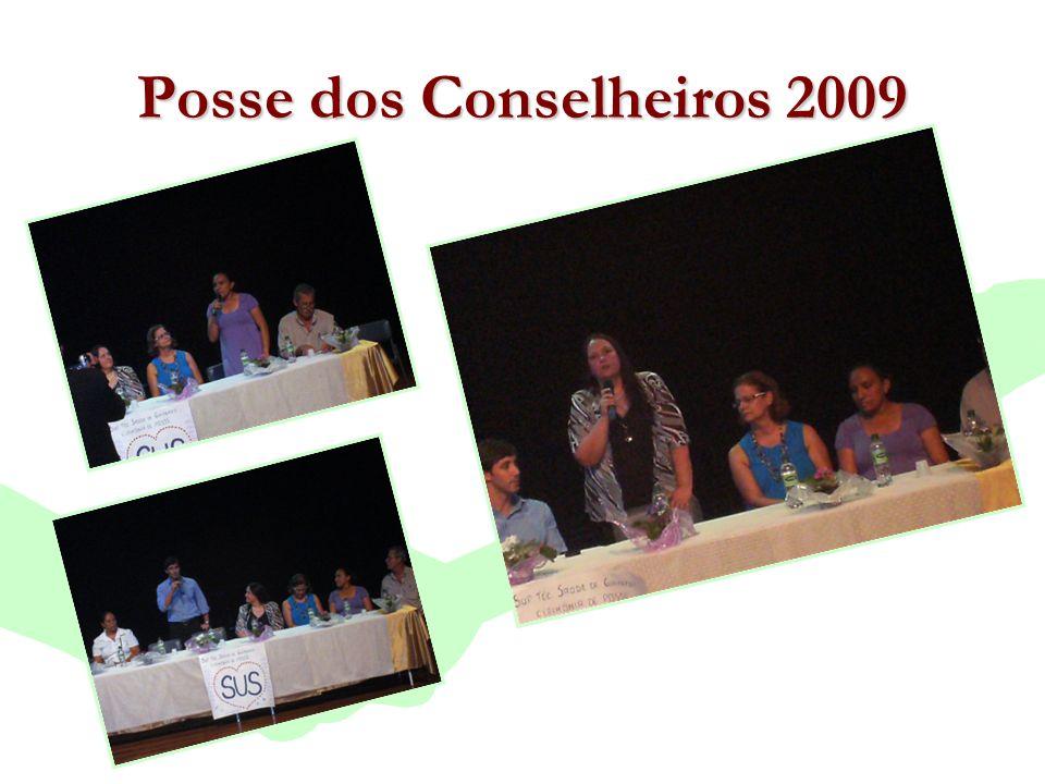 Encontro Municipal de Conselhos Jan/20107 Posse dos Conselheiros 2009