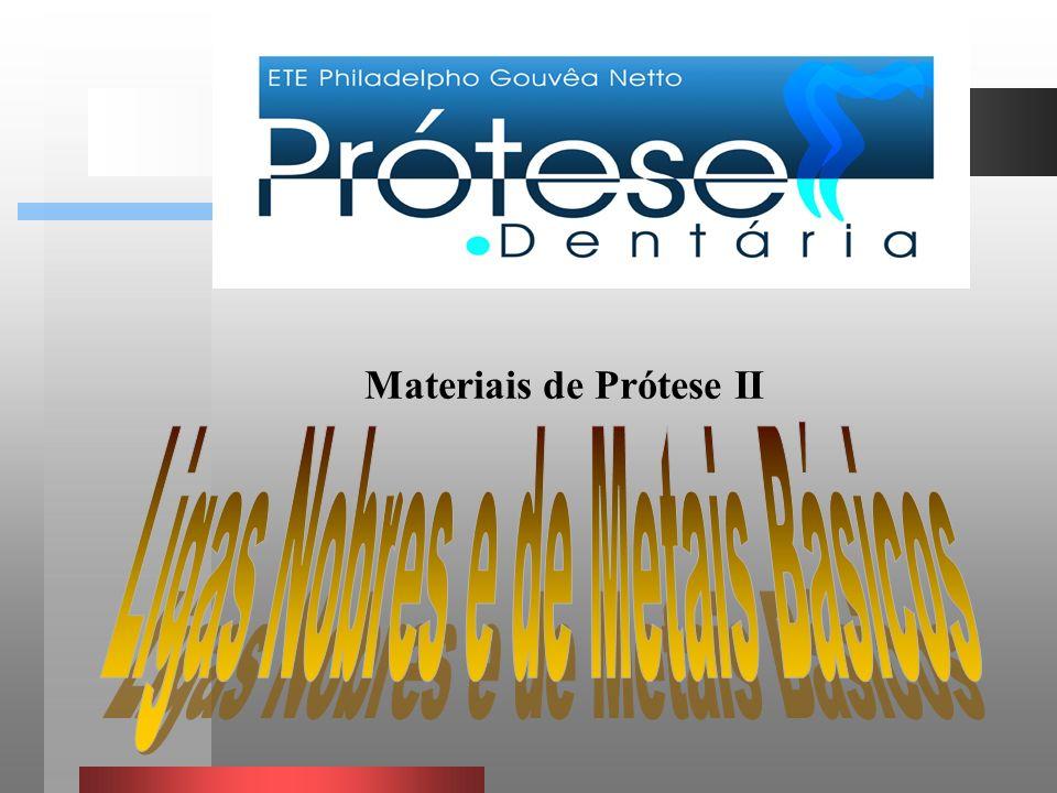Materiais de Prótese II