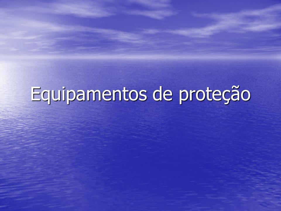 Óculos de proteção Caracterização: material sintético duro.