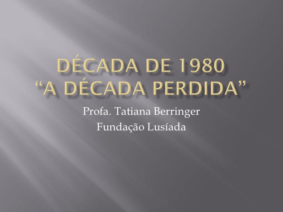 Profa. Tatiana Berringer Fundação Lusíada