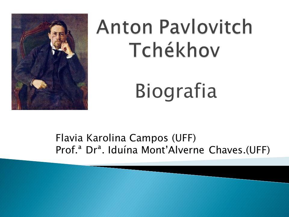 Biografia Flavia Karolina Campos (UFF) Prof.ª Drª. Iduína MontAlverne Chaves.(UFF)