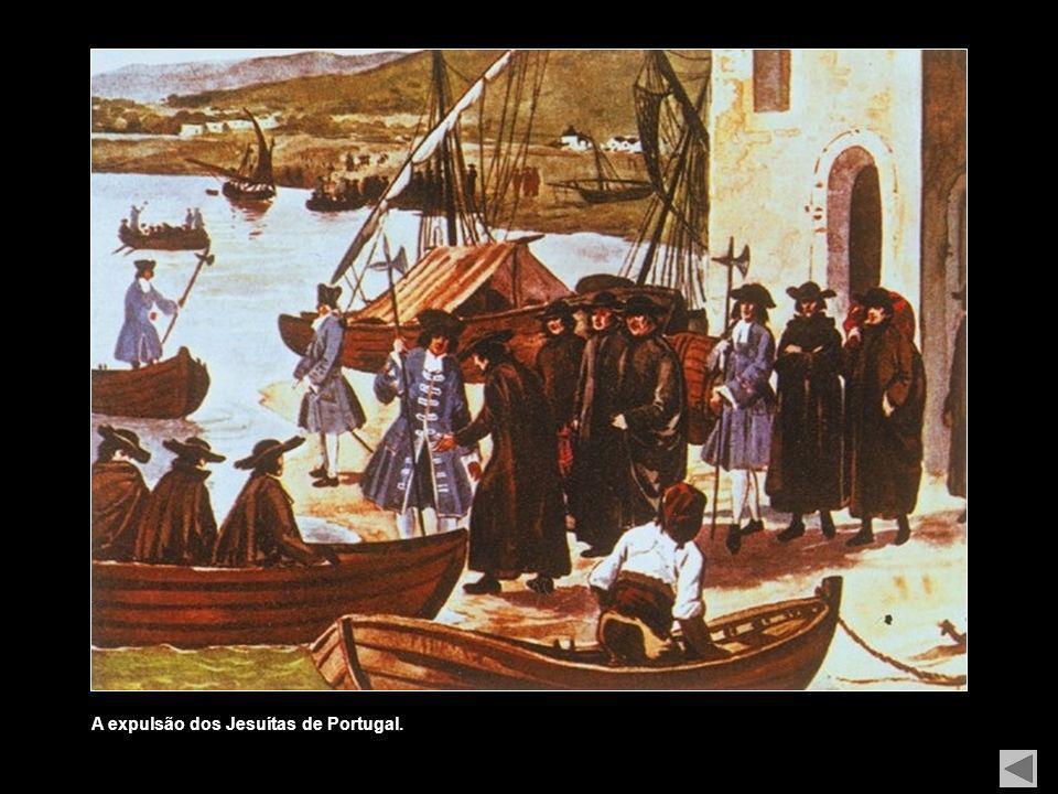 A execução dos Távoras (alguns membros desta família foram executados publicamente, em 1759, sob a acusação de terem participado na tentativa de assas