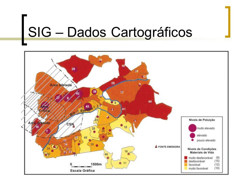 17 SIG – Dados Cartográficos