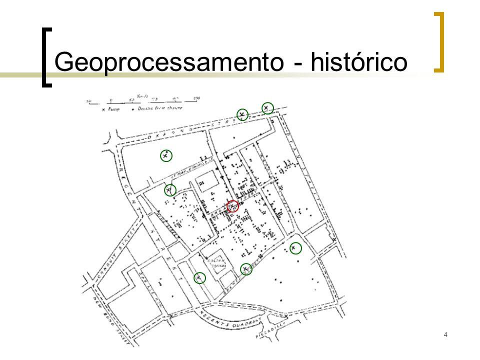 4 Geoprocessamento - histórico