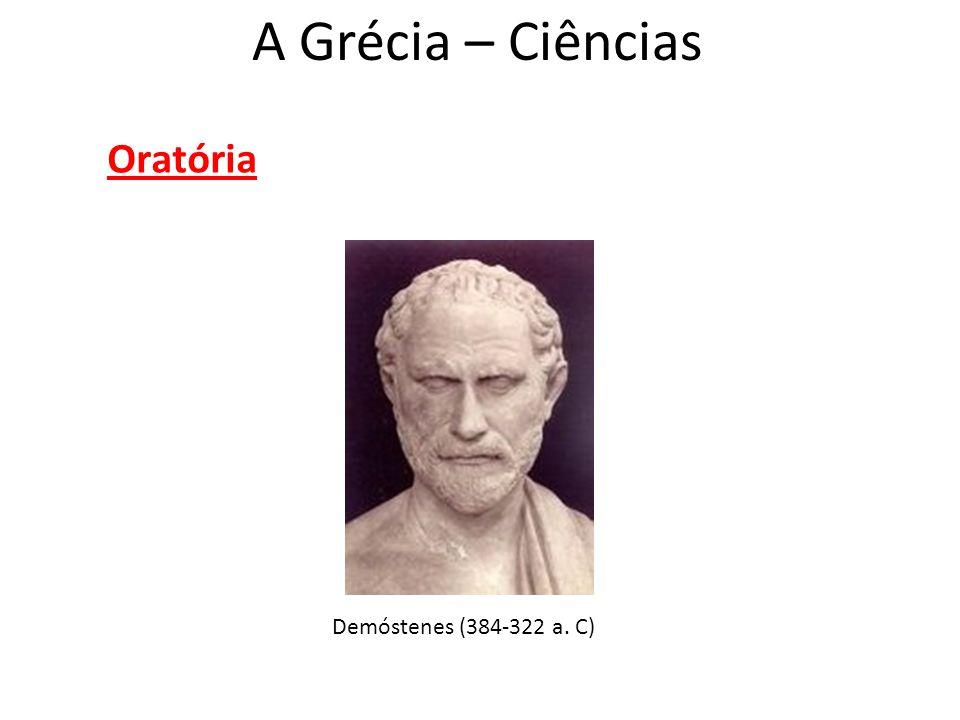 Oratória Demóstenes (384-322 a. C)