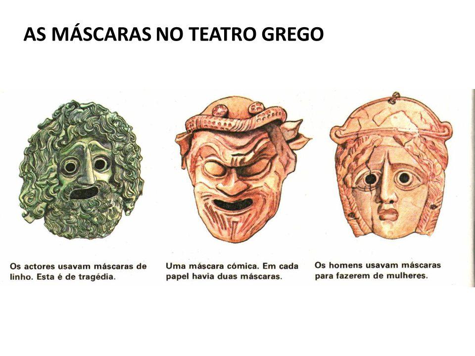 AS MÁSCARAS NO TEATRO GREGO