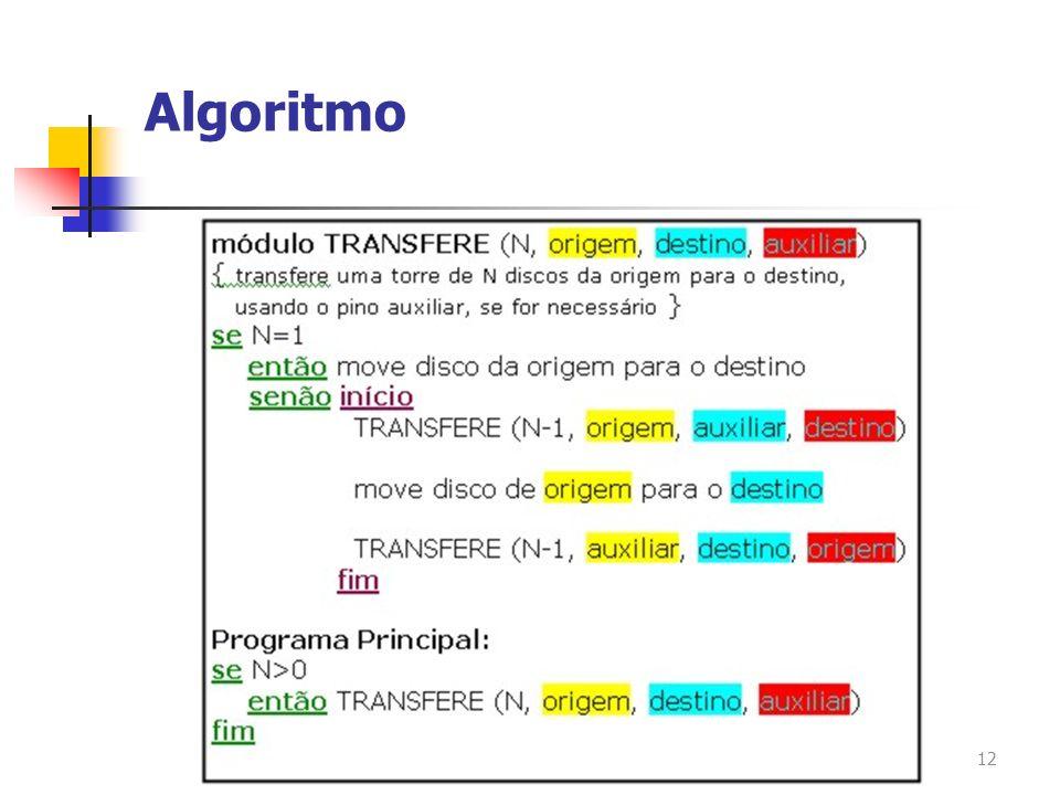 12 Algoritmo