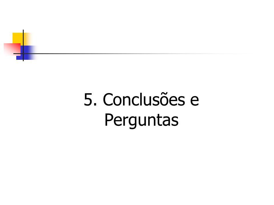 5. Conclusões e Perguntas