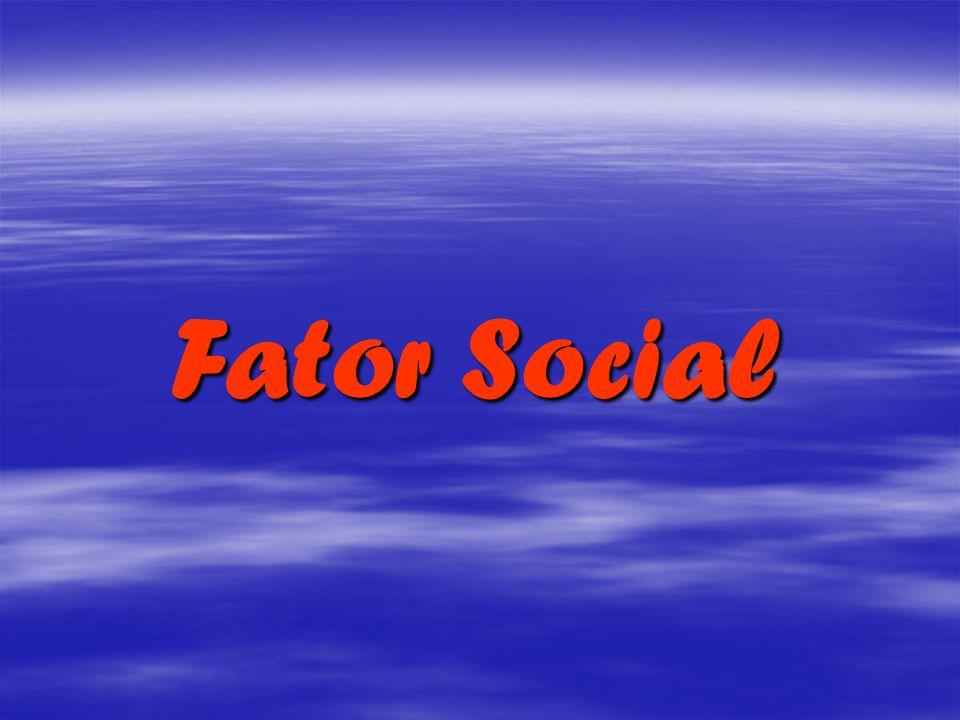 Fator Social Fator Social