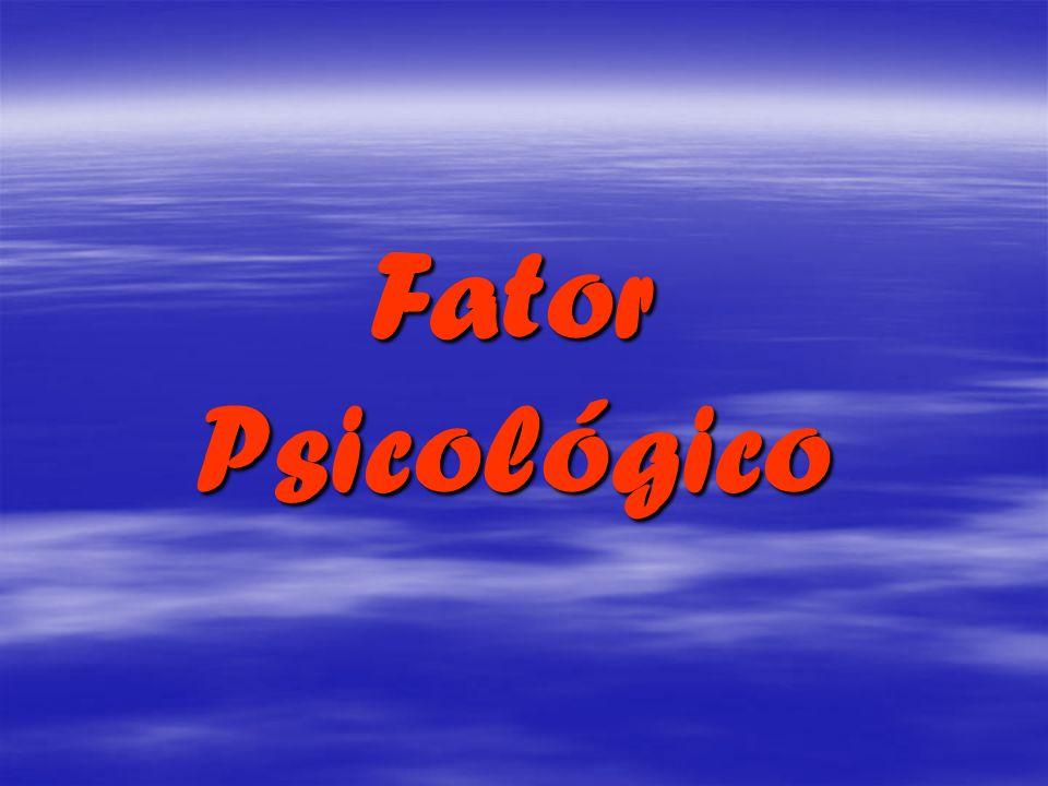 Fator FatorPsicológico