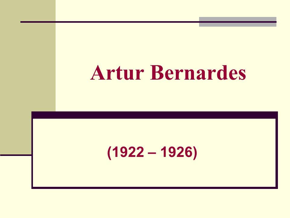 Artur Bernardes (1922 – 1926)