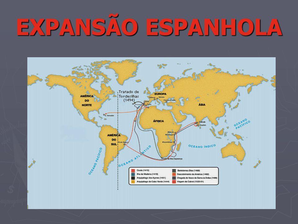 EXPANSÃO ESPANHOLA
