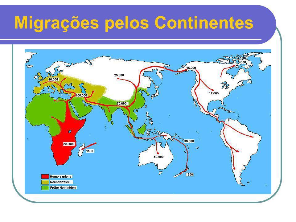 Migrações pelos Continentes