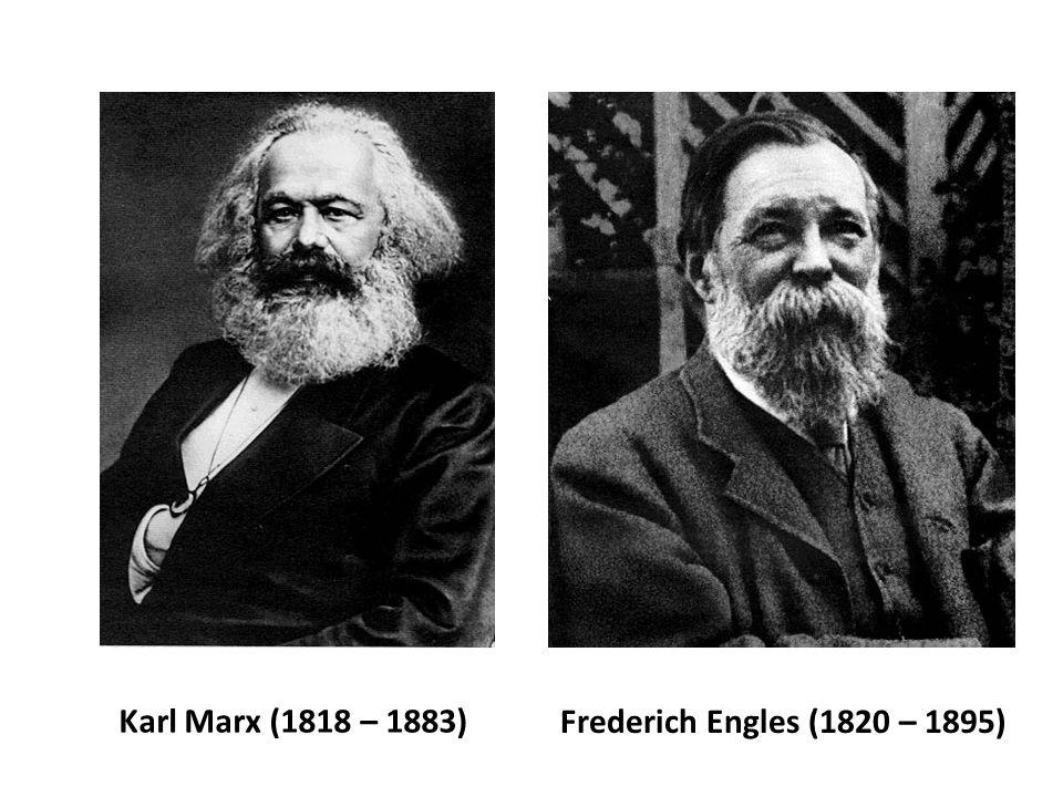 Marx e Engles e o socialismo científico: Desenvolvem a crítica mais bem elaborada da sociedade capitalista pensando seu processo de formação e suas contradições, assim como a possibilidade de transformação desta sociedade pelos trabalhadores.