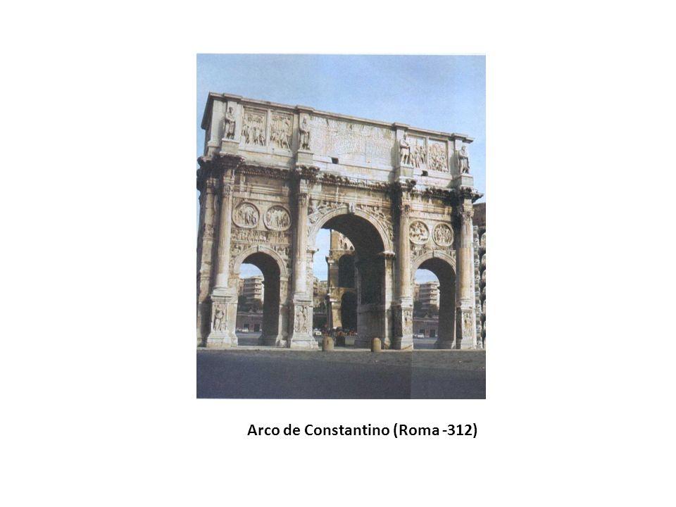 Arco de Constantino (Roma -312)