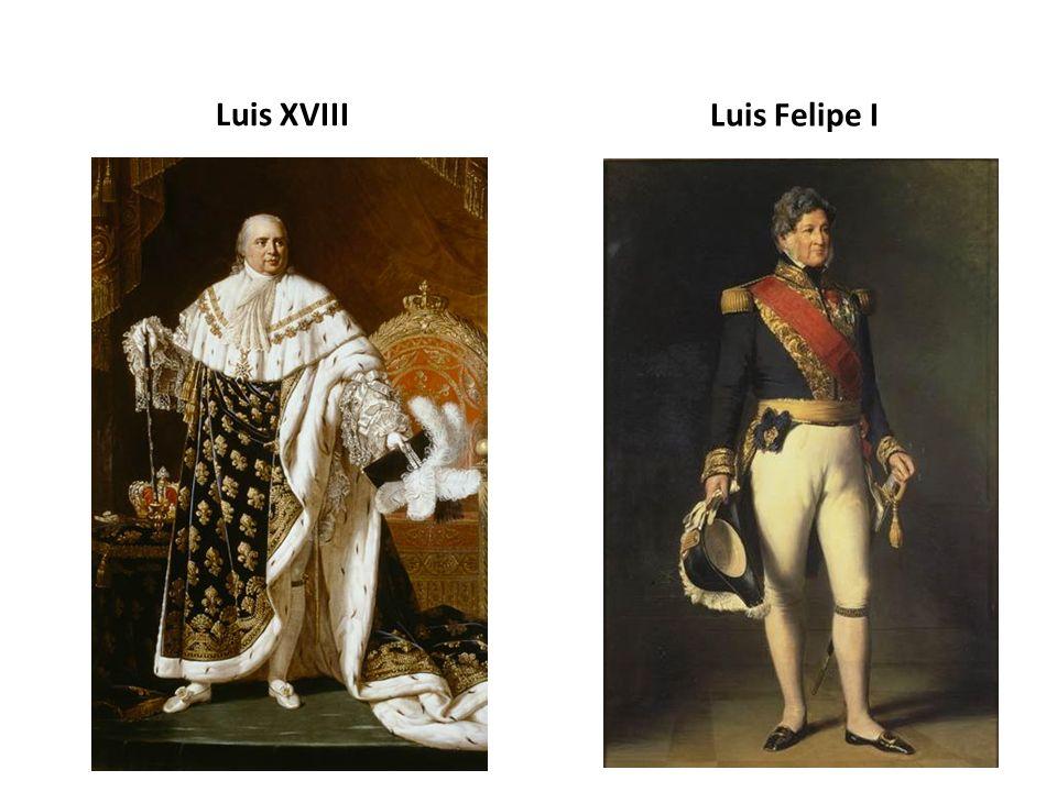 Luis XVIII Luis Felipe I