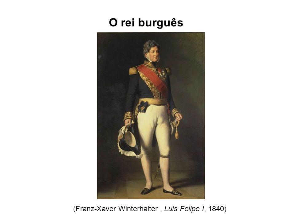 O rei burguês (Franz-Xaver Winterhalter, Luis Felipe I, 1840)