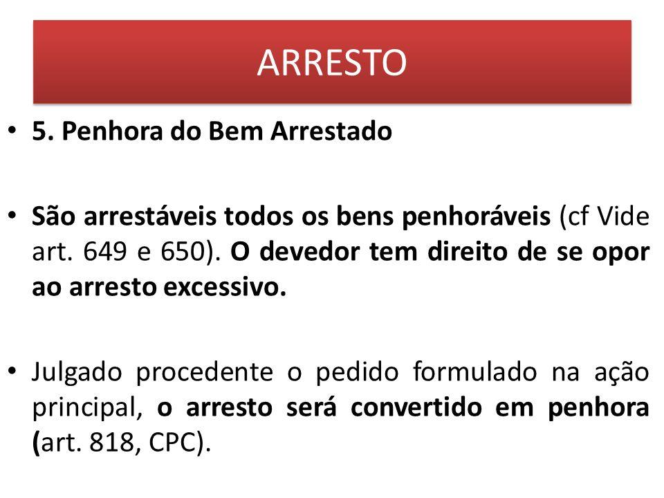 BUSCA e APREENSÃO (arts.839 a 843 CPC) 3.3. outros Exemplos do CPC: art.