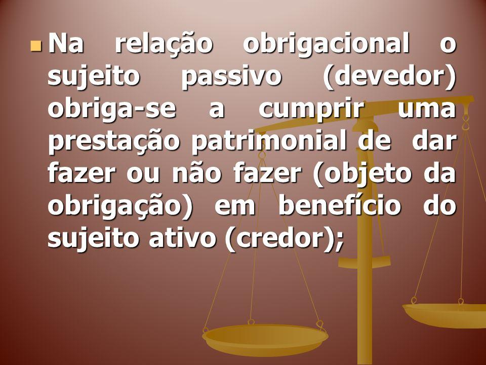 FONTES DAS OBRIGAÇÕES IMEDIATAS E MEDIATAS IMEDIATA: LEI= fonte primeira de qualquer obrigação; IMEDIATA: LEI= fonte primeira de qualquer obrigação;