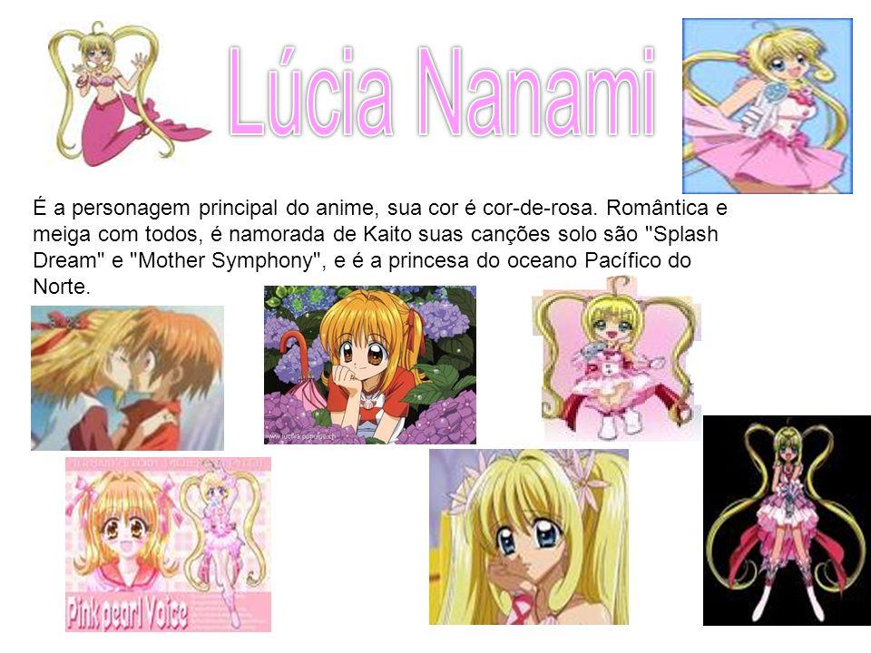 É a personagem principal do anime, sua cor é cor-de-rosa. Romântica e meiga com todos, é namorada de Kaito suas canções solo são