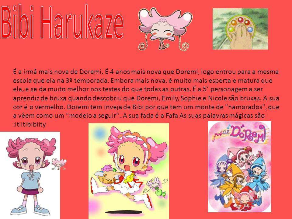 É a irmã mais nova de Doremi. É 4 anos mais nova que Doremi, logo entrou para a mesma escola que ela na 3ª temporada. Embora mais nova, é muito mais e