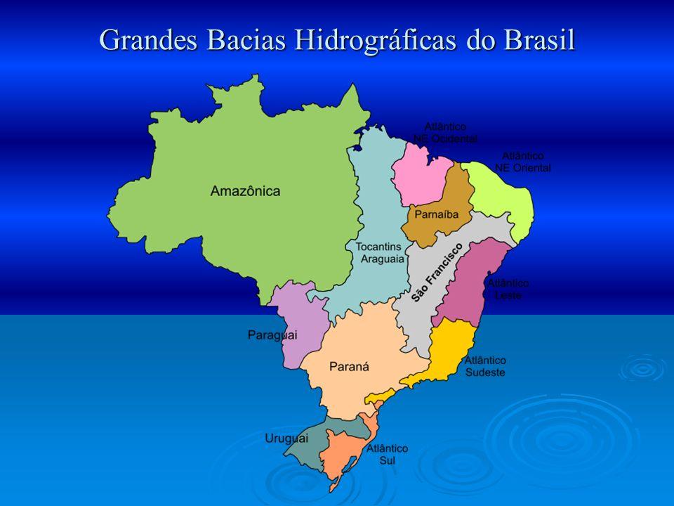 Grandes Bacias Hidrográficas do Brasil