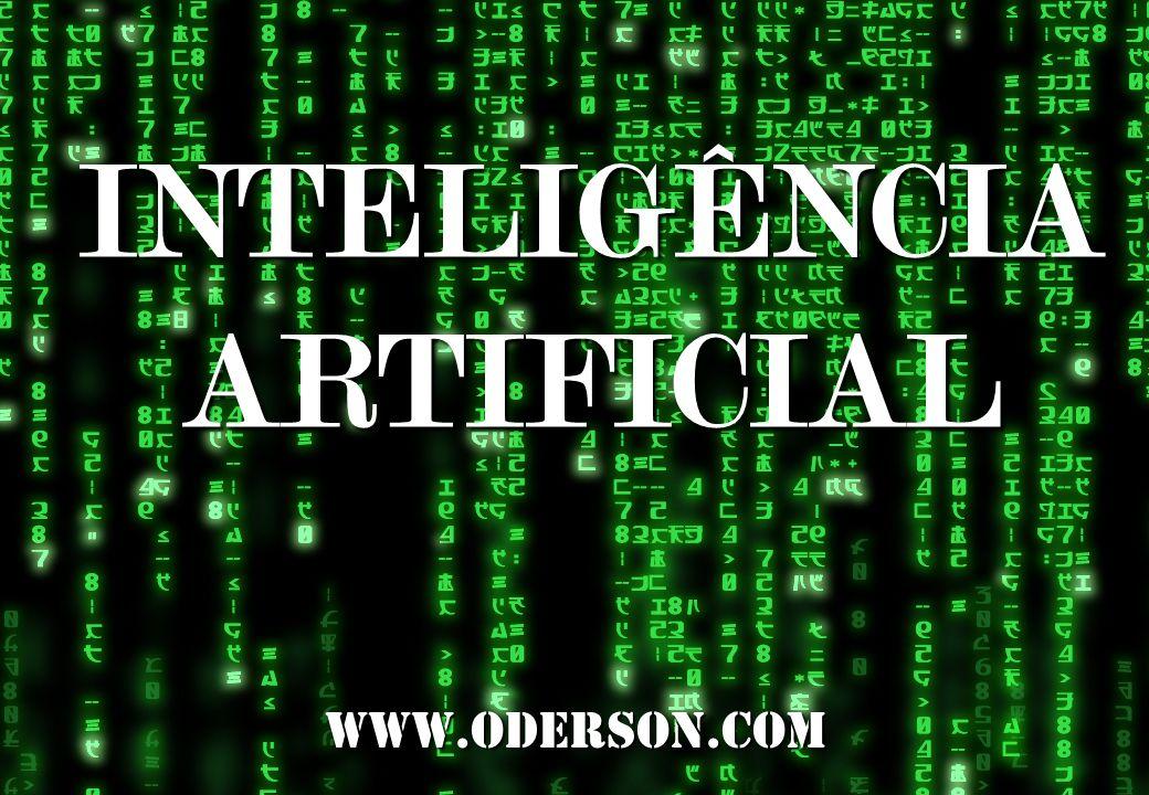 Inteligência Artificial www.oderson.com 1DICAS Questione os temas propostos nas aulas, fica mais fácil aprender. Demonstre interesse pelo conteúdo exp