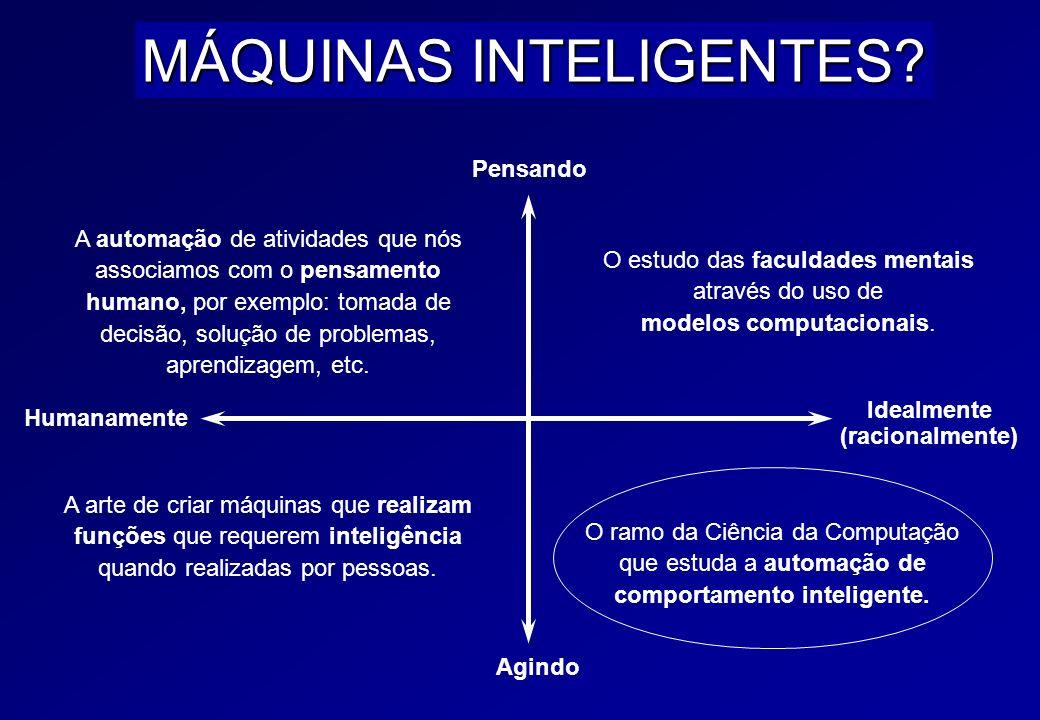 Inteligência Artificial www.oderson.com 24 SISTEMA INTELIGENTE Um sistema inteligente deve ser capaz de adaptar-se a novas situações, raciocinar, ente