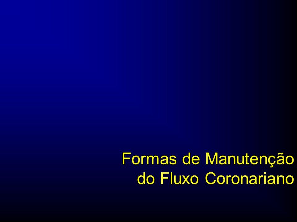 Formas de Manutenção do Fluxo Coronariano