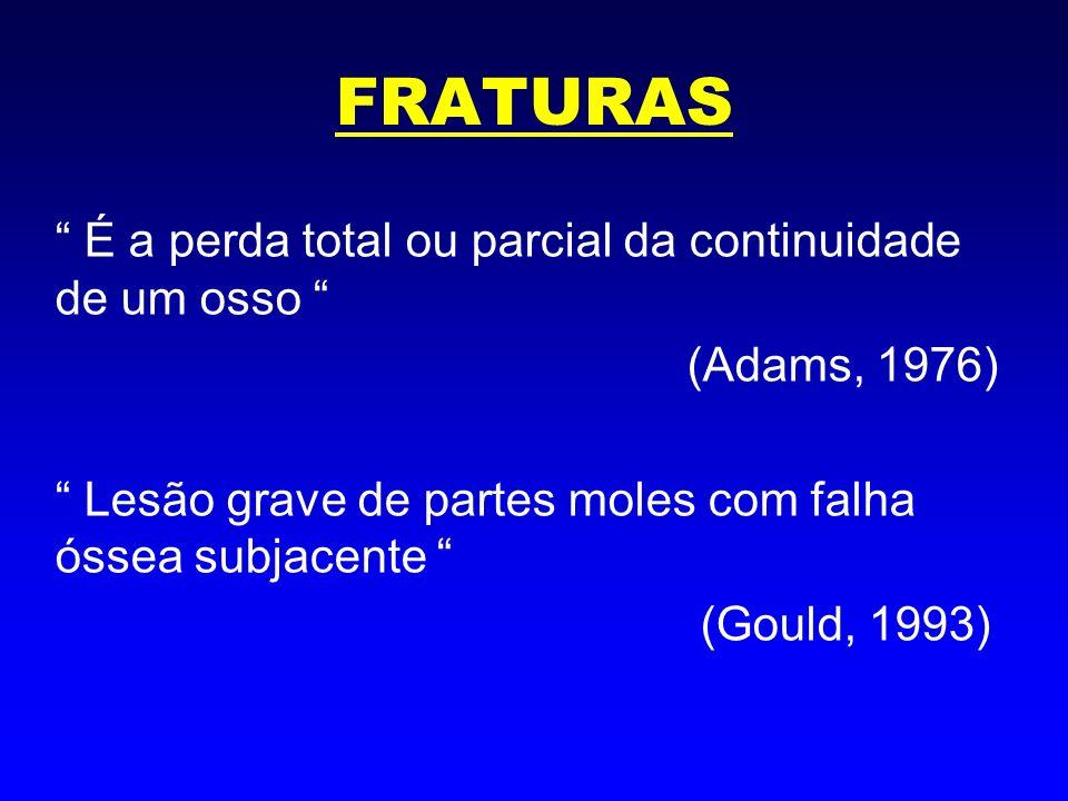 FRATURAS Doença de Fratura: Estado clínico manifestado por edema crônico, atrofia dos tecidos moles e osteoporose em focos.
