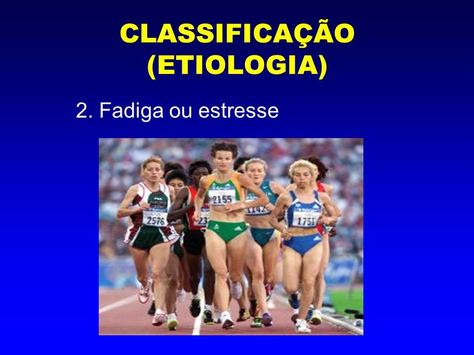 CLASSIFICAÇÃO (ETIOLOGIA) 3. Patológica