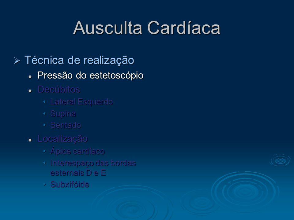 Pulso Arterial A. Normal Anormais Anormais Corrigan ou Martelo dagua Corrigan ou Martelo dagua Regurgitação AórticaRegurgitação Aórtica C.D. Biesfério