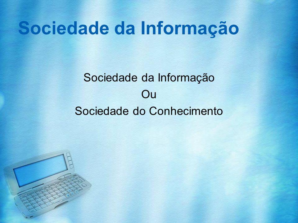 Sociedade da Informação Informação –É algo externo –Informativo –Acumula-se rapidamente –Automática –Inerte Conhecimento –É interiorizado –É estruturado –Cresce lentamente –É humano –Conduz à acção A leitura é a chave do conhecimento na sociedade da informação