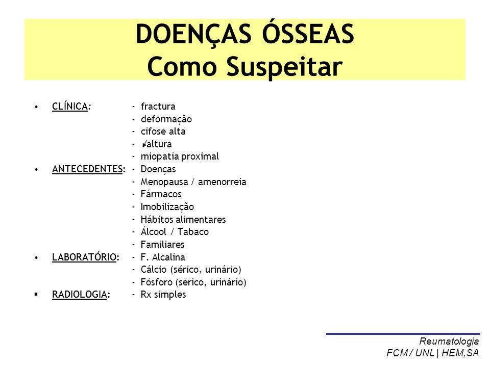 OSTEOMALÁCEA (OM) Definição A osteomalácea (e o raquitismo) caracterizam-se pela deficiente mineralização da matriz óssea.