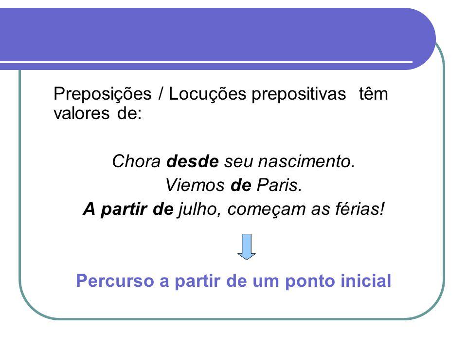 Contração e Combinação prepositiva Dá-se quando preposições se unem a artigos ou pronomes.