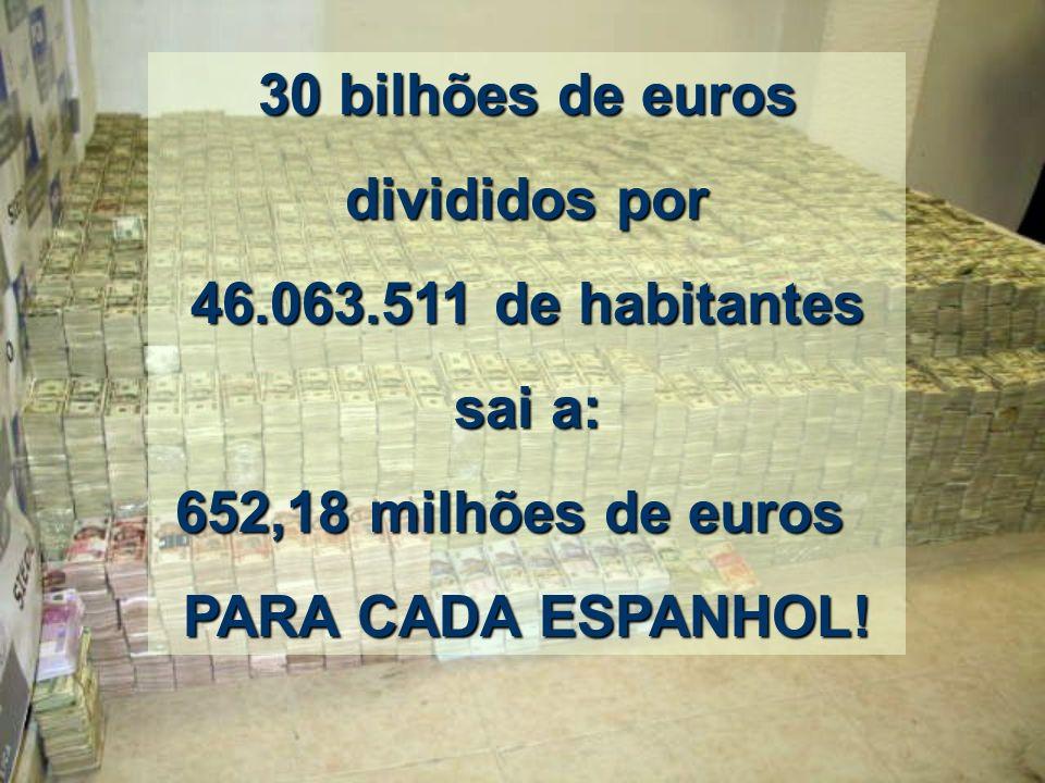 Espanha: Espanha: Neste momento, Neste momento, sua população é de 46.063.511 de habitantes, segundo dados oficiais de 2008. FAÇAMOS O CÁLCULO.