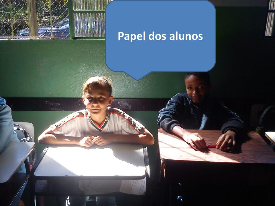 Papel dos alunos