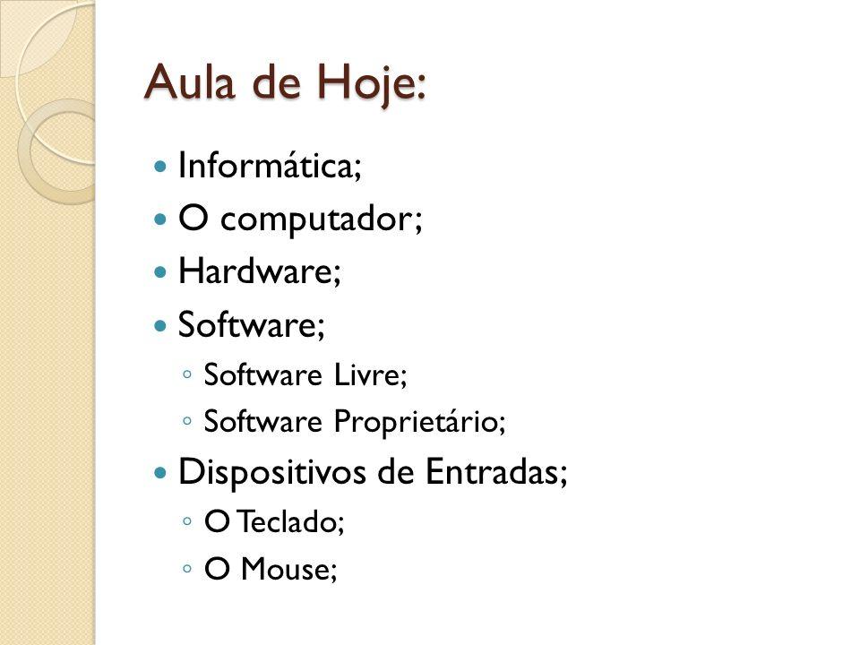 Há dois modelos do Mouse: Um que funciona com um sistema de rolamento, utilizando uma bolinha(track ball).