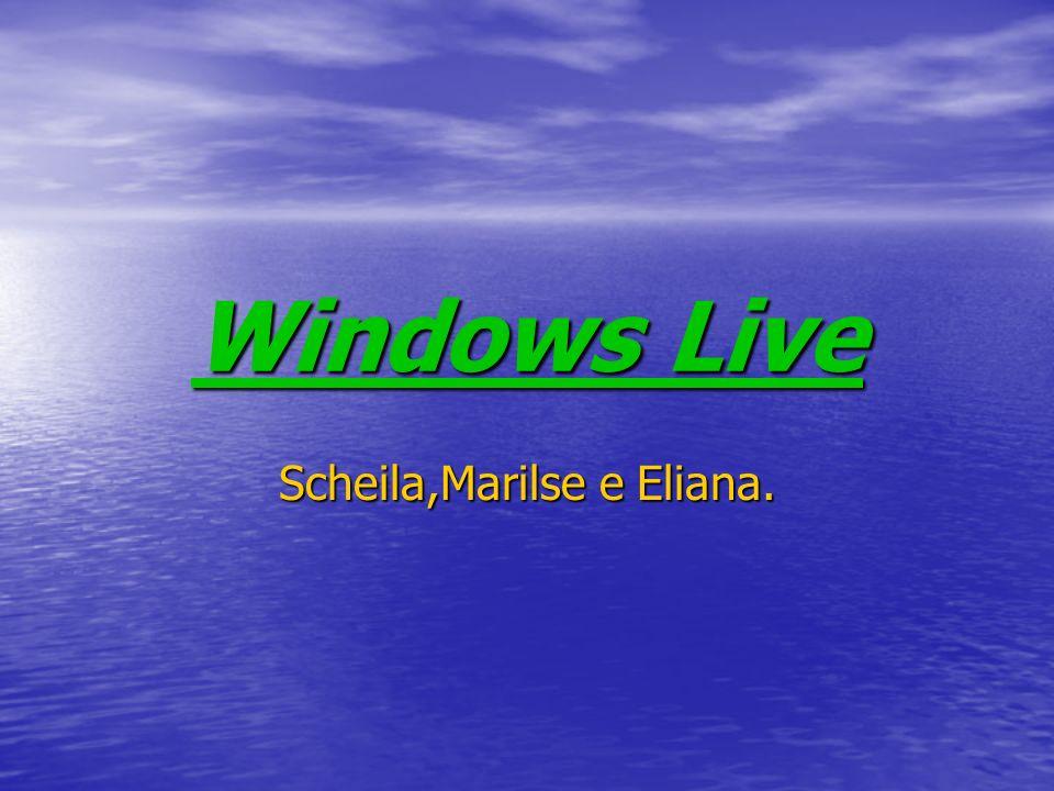 Introdução Windows Live Messenger é um programa de comunicação instantânea pela Internet.