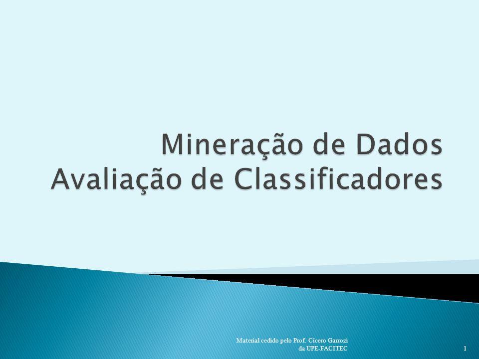 1 Material cedido pelo Prof. Cícero Garrozi da UPE-FACITEC