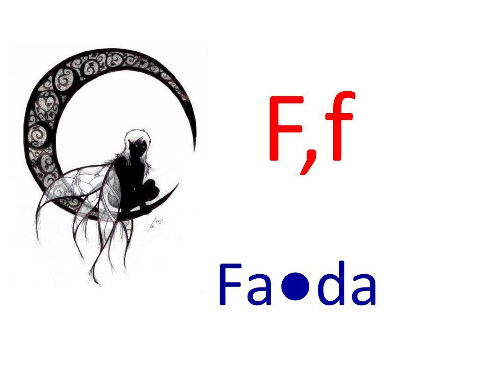 F,f Fada