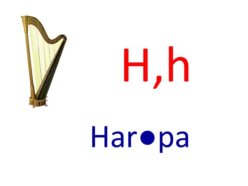 H,h Harpa