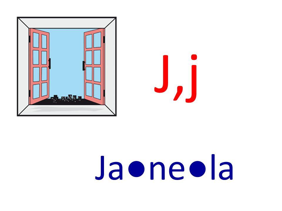 J,j Janela