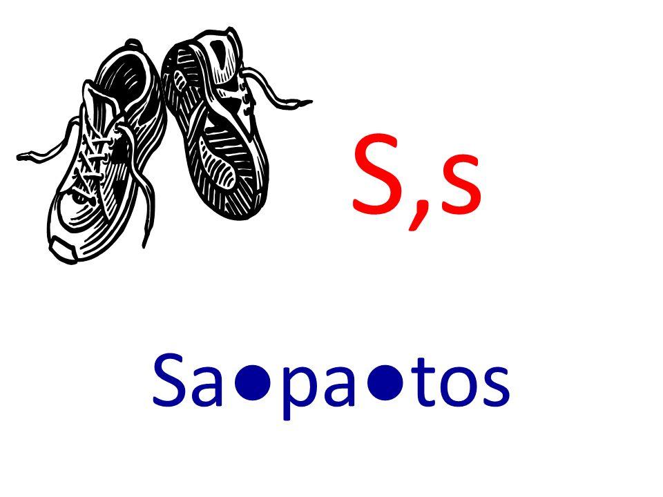 S,s Sapatos
