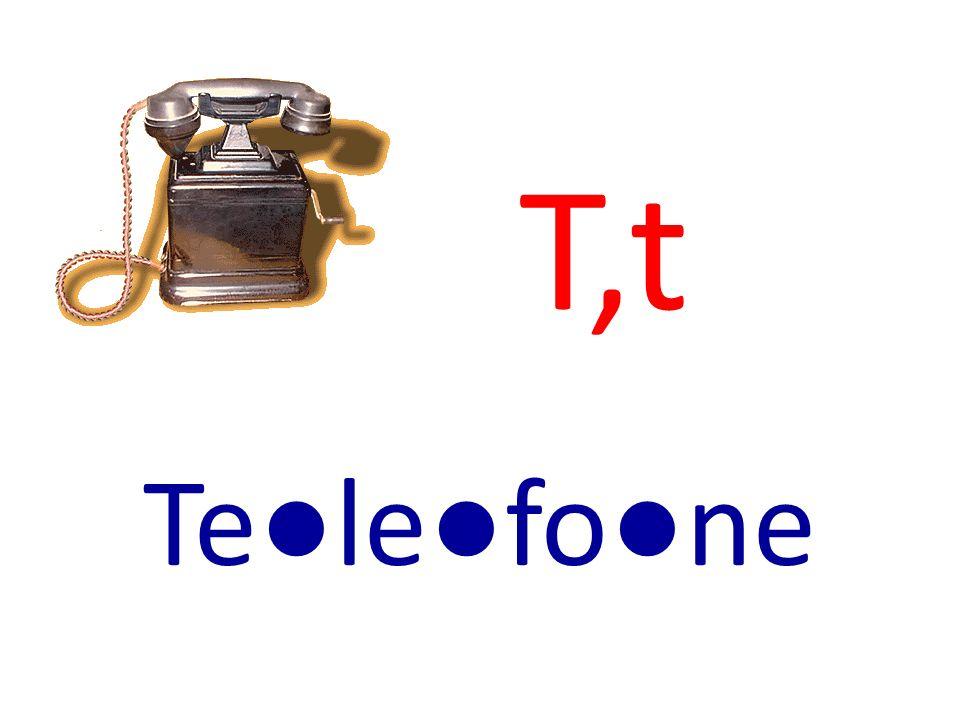 T,t Telefone