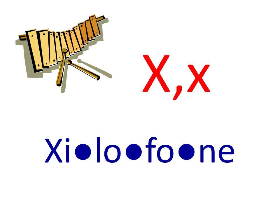 X,x Xilofone