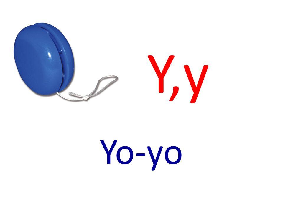 Y,y Yo-yo