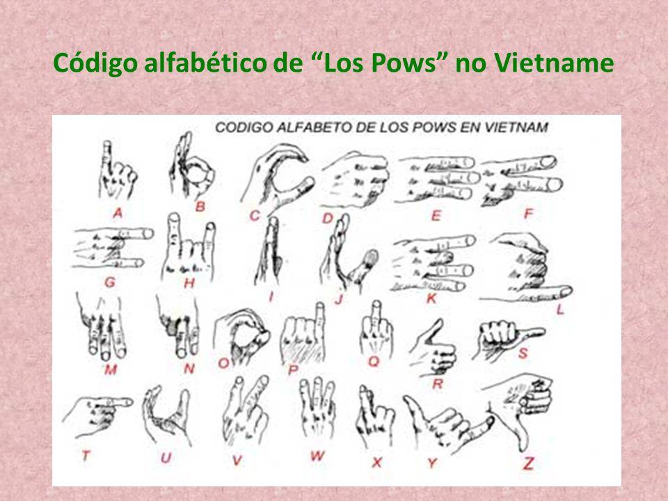 Código alfabético de Los Pows no Vietname