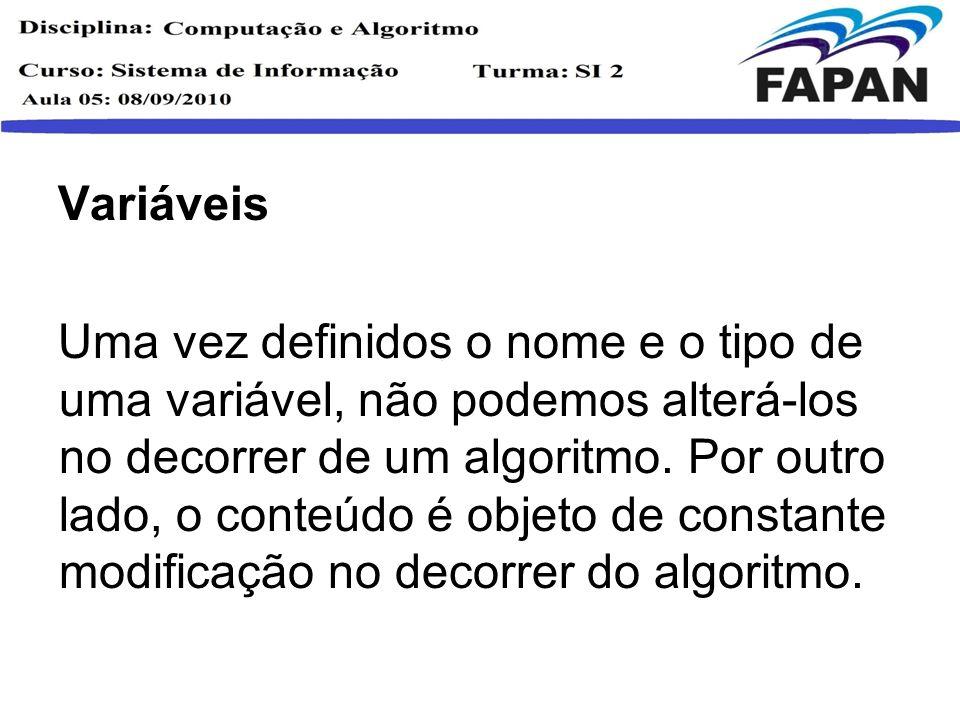 Pseudo Código/Português estruturado É a escrita, por meio de regra predefinida, dos passos a serem seguidos para a resolução de um problema.